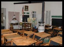 Inside La Gloria School House